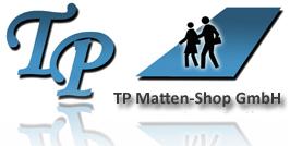 TP Matten-Shop - Der Schmutzfangmatten, Bodenschutzmatten & Arbeitsplatzmatten Spezialist-Logo